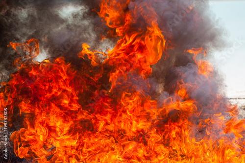 In de dag Vuur / Vlam Flame fire movemen.