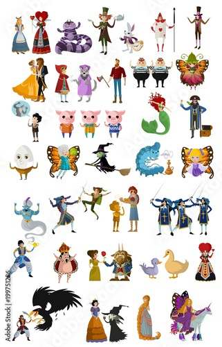 child tales characters collection