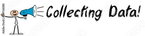 Fototapeta Collecting Data! obraz
