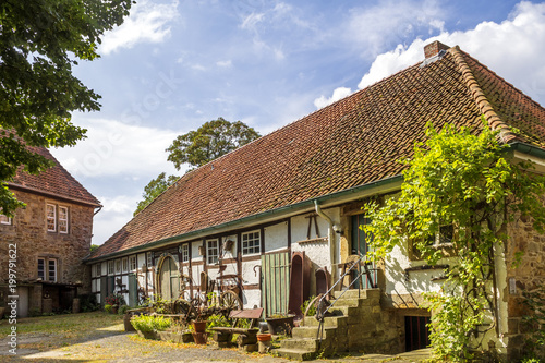 Burg Schaumburg Fototapet