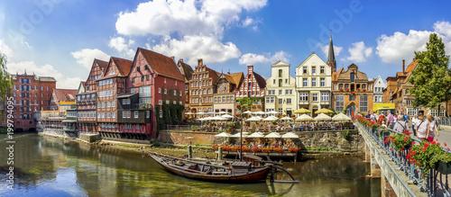 Obraz na plátne  Lüneburg, Altstadt, Stintmarkt