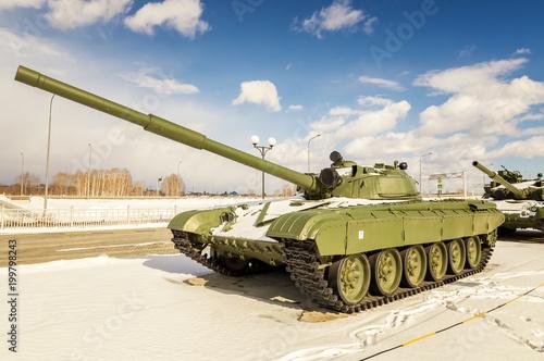 Fotomural боевой советский танк