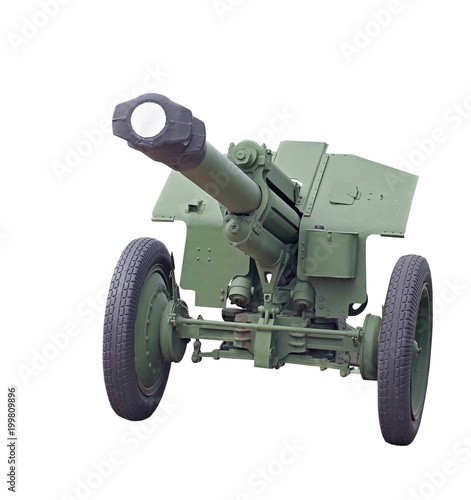 Foto op Canvas Militair Old Soviet cannon