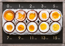 Eggs In Varying Degrees Of Ava...