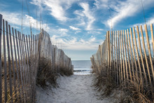 Ocean Sand Beach Entrance Gate/fence