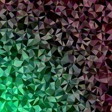 Dark Irregular Triangle Mosaic Vector Background Design