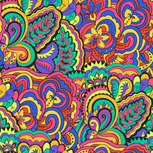 Abstract Colorful Seamless Psy...
