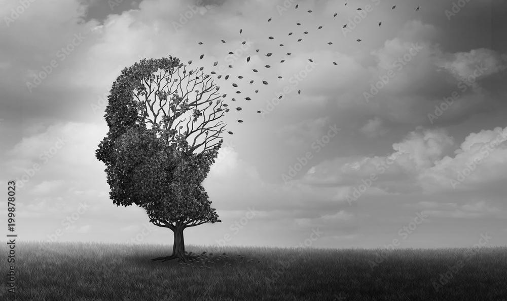 Fototapety, obrazy: Alzheimer Disease
