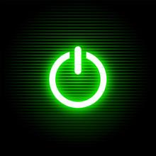 On Green Light Button