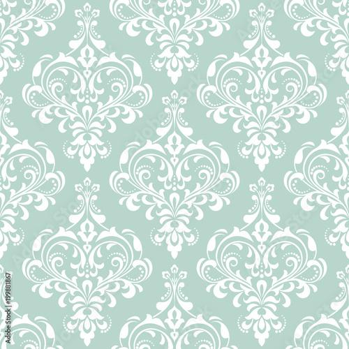 tapeta-w-stylu-baroku-bezszwowe-tlo-wektor-bialy-i-niebieski-ornament-kwiatowy-graficzny-wzor-wektor