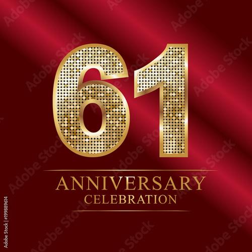 Fotografia  anniversary celebration logotype