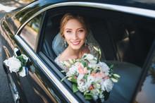 Portrait Of A Cute Bride In A ...