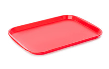 Red Kitchen Tray