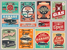Vintage Road Vehicle Repair Se...