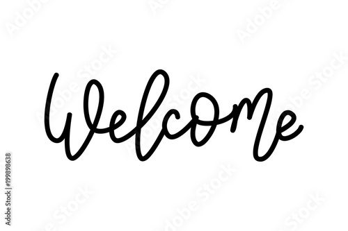Welcome Fototapeta