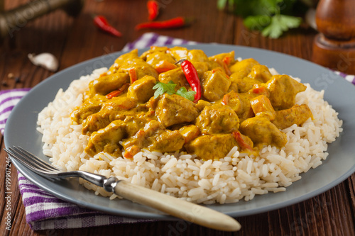Fototapeta Chicken Curry Sauce. obraz