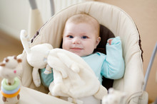Cute Adorable Newborn Baby Sit...