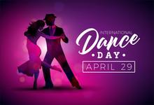 International Dance Day Vector...