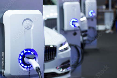фотография the power supply for Charging of an electric car