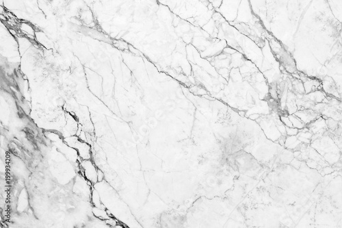 obraz PCV white marble texture background (High resolution).