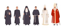 Collection Of Monks, Priests A...