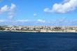 View to Saint Thomas Bay of Marsaskala on the Mediterranean sea, Malta