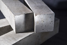Rectangular Blocks From Concrete