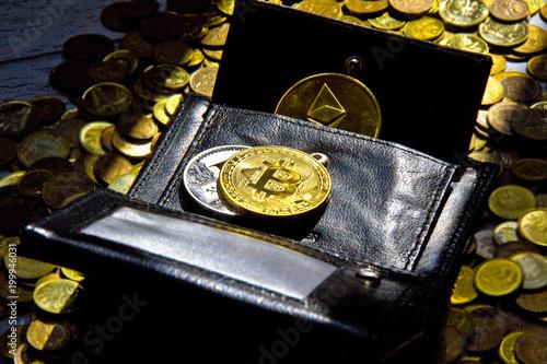 Bitcoin ethereum litecoin arranged on the wallet coins arranged bitcoin ethereum litecoin arranged on the wallet coins arranged in the background ccuart Choice Image