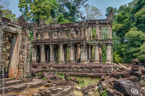 Cambodia Angkor Complex 360 Poster