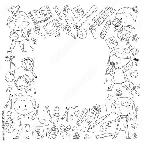 Children  School and kindergarten  Creativity and education