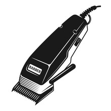 Electrical Hair Clipper Or Shaver Vector Object