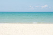 blue sea beach beautiful sky and sand ,hot summer concept background space