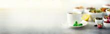 Tea Concept With Copy Space. D...