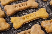 Homemade Oatmeal Dog Treats Wi...