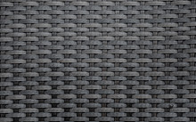 Black Artificial Rattan Patter...