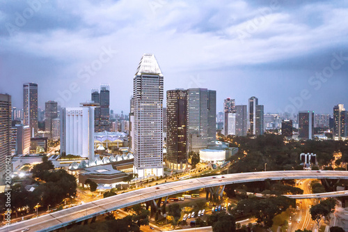Photo  Cityscape of Singapore