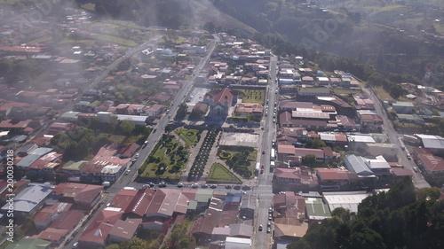 Photo Aerial View of the Zarcero Park in Costa Rica