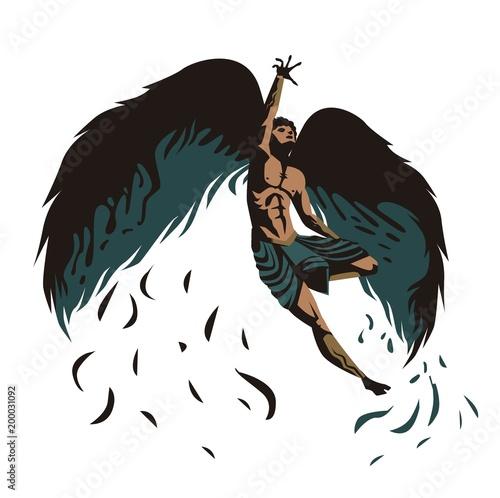 icarus greek myth Fototapet