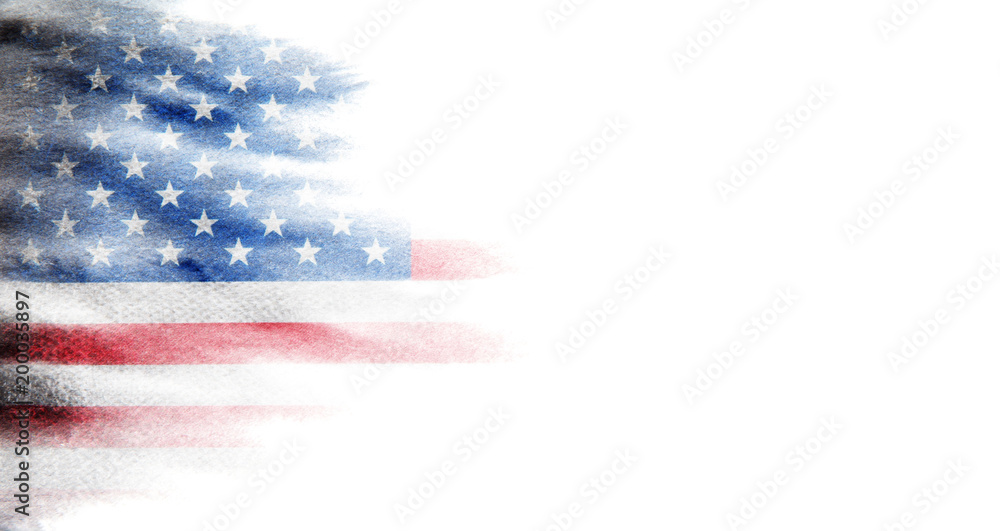 Fototapety, obrazy: Flag of USA