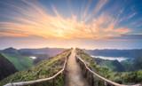 Krajobraz górski Wyspa Ponta Delgada, Azory - 200046800