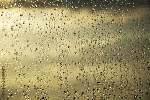 Fotografie, Obraz  Krople deszczu