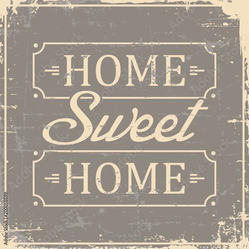 home-sweet-home-signage-vintage-retro-shabby