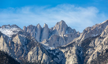 Mountain Whitney Close-up View...