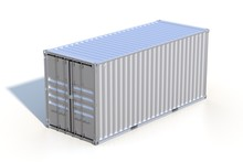 Brown Ship Cargo Container Sid...