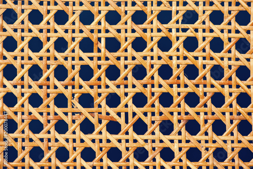 geometric basketwork seamless pattern stylish texture with repeating straight li Wallpaper Mural