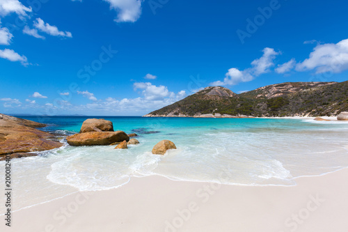 Fotografie, Tablou Little Beach at Two peoples Bay conservation reserve in Albany, Western Australi
