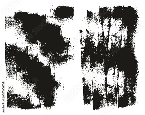 Fotografía  Paint Roller Background High Detail Abstract Vector Background Set 130