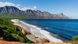 canvas print picture - False Bay, View on the Kogelberg Nature Reserve, South Africa