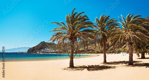 Fotografia  Amazing view of beach las Teresitas Tenerife