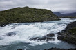 Paine River in the Magallanes Region of Chile